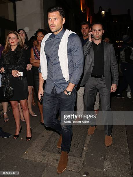 Mark Wright attending James Ingham's Jog on to Cancer Research UK event at Kensington Roof Gardens on April 9 2015 in London England