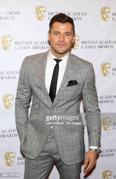 Mark Wright attending the British Academy Video Games Awards at the London Hilton Park Lane London