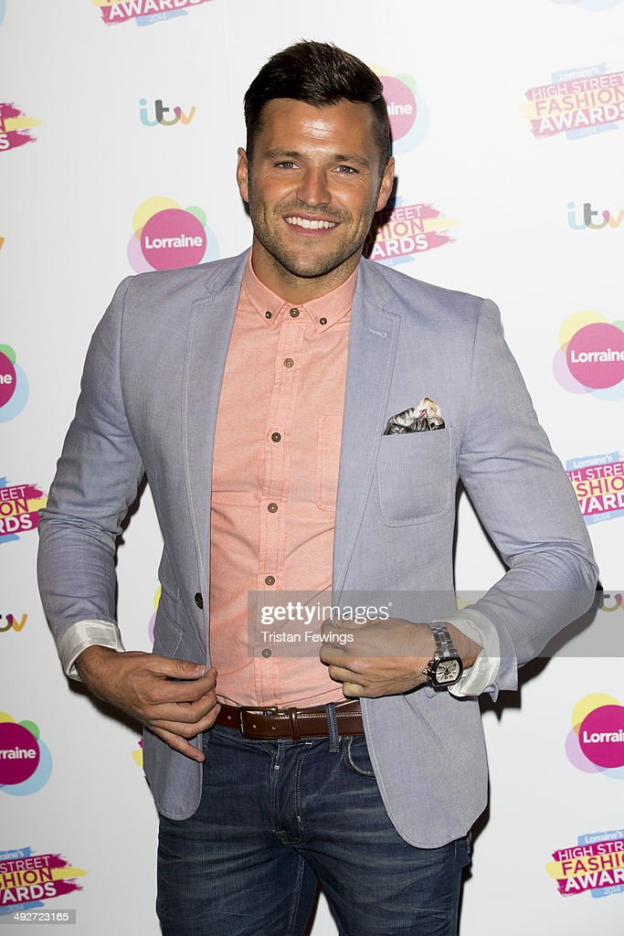 Mark Wright attends Lorraine's High Street Fashion Awards on May 21, 2014 in London, England.