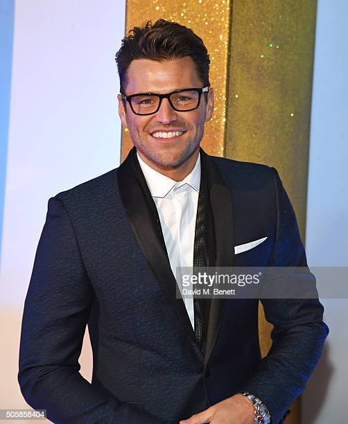 Mark Wright attends the 21st National Television Awards at The O2 Arena on January 20 2016 in London England
