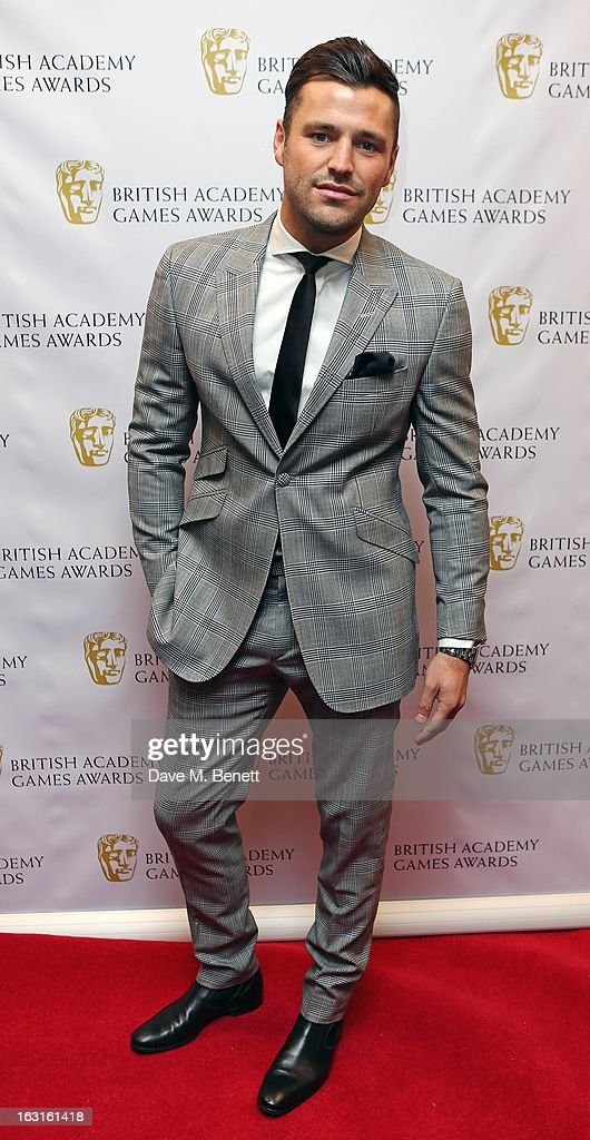 Mark Wright attends The British Academy Games Awards at London Hilton on March 5, 2013 in London, England.