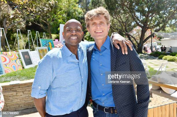 Mark Wylie and Anthony Shriver attend Cindy Crawford and Kaia Gerber host Best Buddies Mother's Day Brunch in Malibu CA sponsored by David Yurman on...