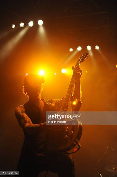 Mark Yates of Terrorvision Performs at Motorpoint Arena on February 19 2016 in Sheffield England