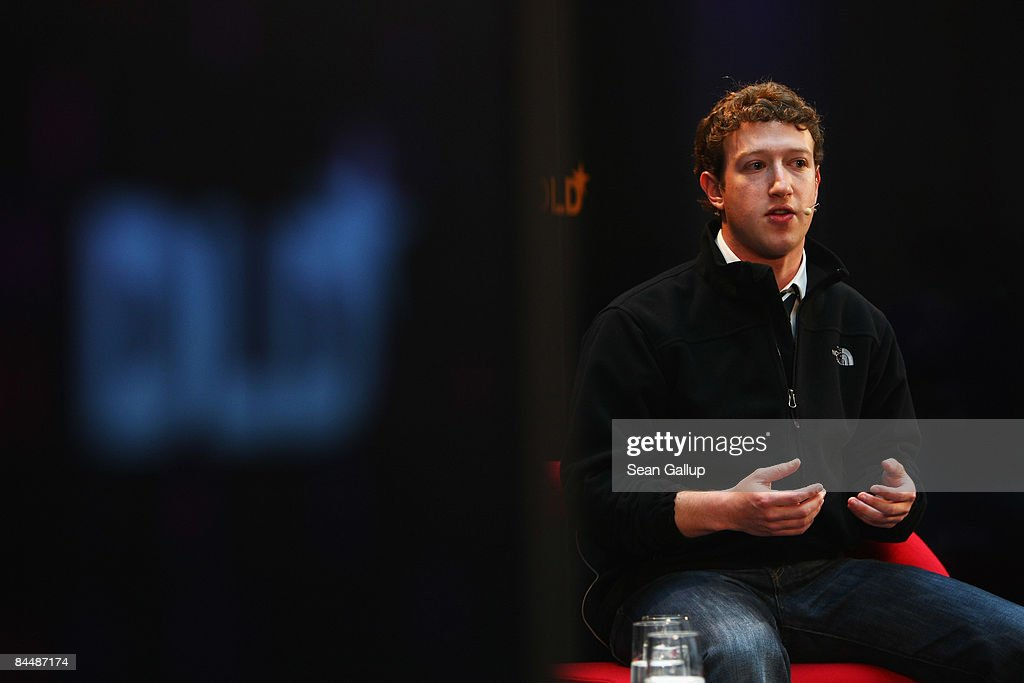 <a gi-track='captionPersonalityLinkClicked' href=/galleries/search?phrase=Mark+Zuckerberg&family=editorial&specificpeople=4841191 ng-click='$event.stopPropagation()'>Mark Zuckerberg</a>, CEO of Facebook, attends the Digital Life Design (DLD) conference on January 27, 2009 in Munich, Germany. DLD brings together global leaders and creators from the digital world.