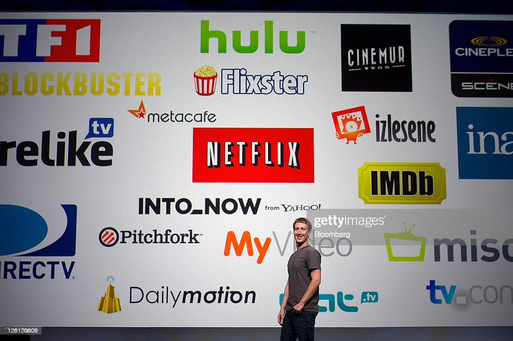 Mark Zuckerberg, chief executive officer and founder of Facebook Inc., speaks at Facebook's F8 developers conference in San Francisco, California, U.S., on Thursday, Sept. 22, 2011. Zuckerberg unveiled new features that will let users share music, movies and TV shows through the social network's website. Photographer: David Paul Morris/Bloomberg via Getty Images