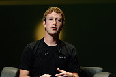 Mark Zuckerberg Founder and CEO of Facebook attends the Facebook Seminar during the 57th International Lions Festival at Palais des Festivals on June...