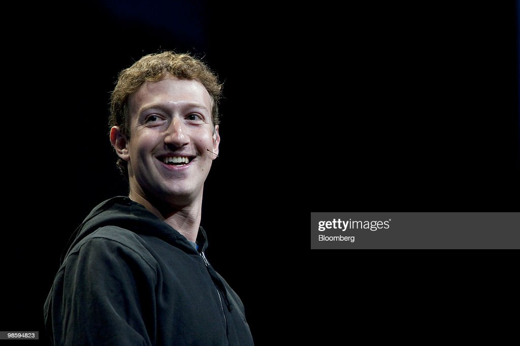 Mark Zuckerberg founder and chief executive officer of Facebook Inc gives a keynote address at the annual F8 developer conference in San Francisco...