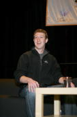 Mark Zuckerberg gives the keynote address at the South By Southwest Interactive Festival on March 9th 2008 in Austin Texas