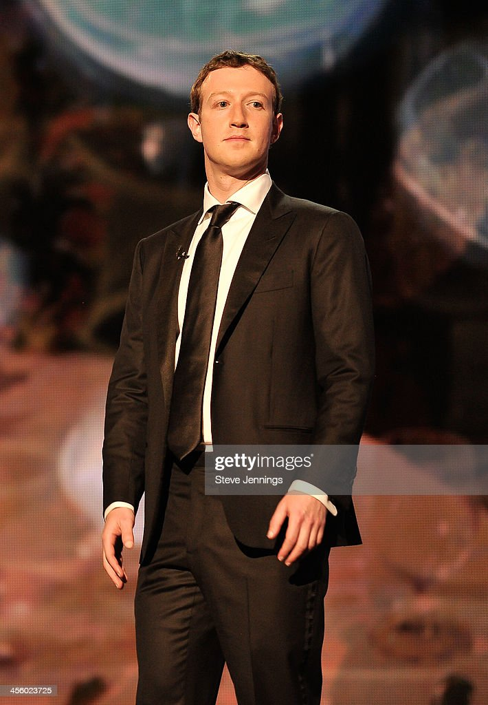 <a gi-track='captionPersonalityLinkClicked' href=/galleries/search?phrase=Mark+Zuckerberg&family=editorial&specificpeople=4841191 ng-click='$event.stopPropagation()'>Mark Zuckerberg</a> is a presenter at the 2014 Breakthrough Prizes Awarded in Fundamental Physics and Life Sciences Ceremony at NASA Ames Research Center on December 12, 2013 in Mountain View, California.