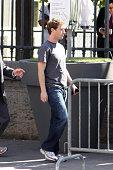 Mark Zuckerberg is sighted 'rue de Rivoli' on May 25 2011 in Paris France