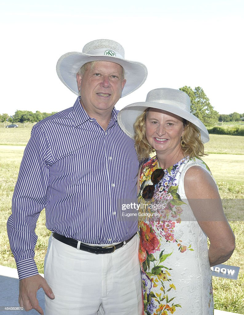 Mark Zurak and Cathy Ferguson attend the Naming Celebration For Stewart F. Lane & Bonnie Comley Event Lawn at the Parrish Art Museum on August 29, 2014 in Water Mill, New York.