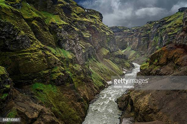 Markarfljotsgljufur fissure, South Coast, Iceland