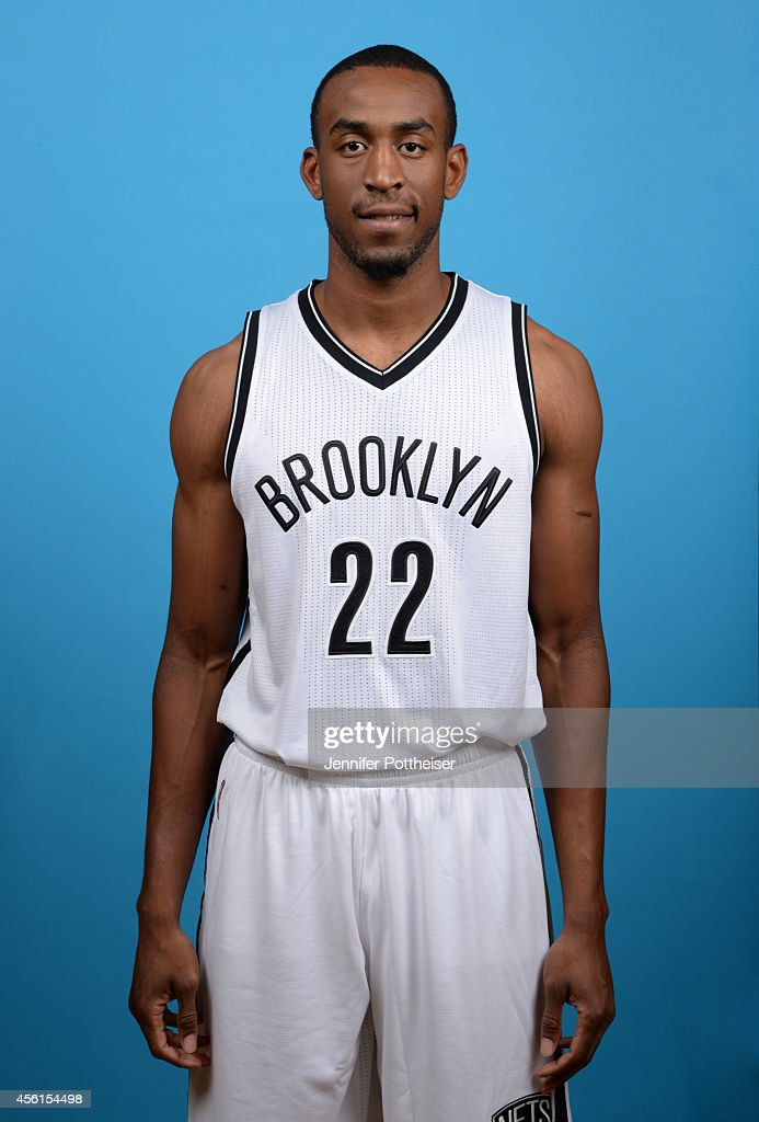 <a gi-track='captionPersonalityLinkClicked' href=/galleries/search?phrase=Markel+Brown&family=editorial&specificpeople=7542399 ng-click='$event.stopPropagation()'>Markel Brown</a> #22 of the Brooklyn Nets poses for a photo during media day on September 26, 2014 at the Nets Practice Center in East Rutherford, New Jersey.