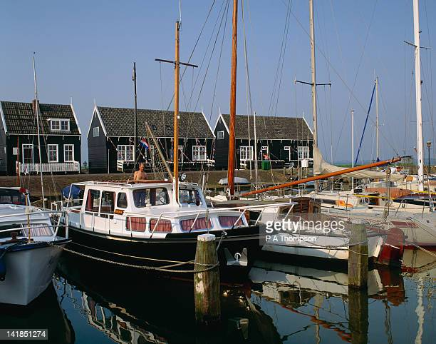 Marken,Noord-Holland - the harbour