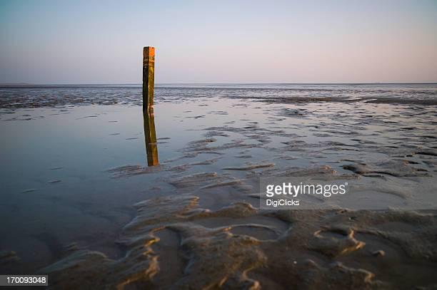 Marqueur à marée basse