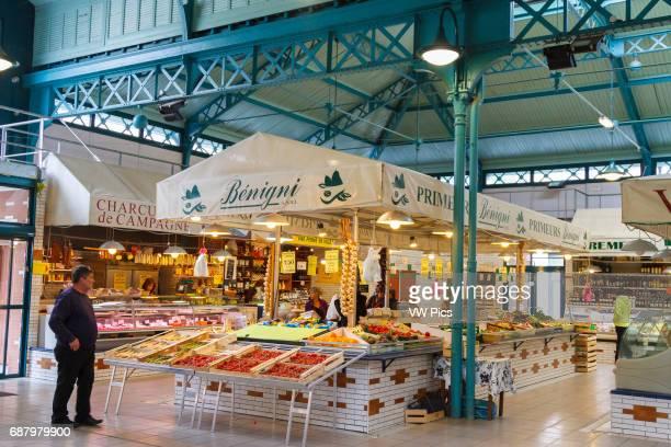 Market BageneresdeBigorre HautesPyrenees department MidiPyrenees region France Europe