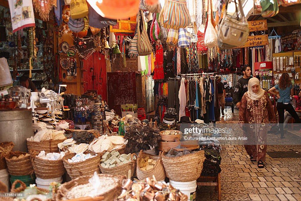 Market in Akko, Israel