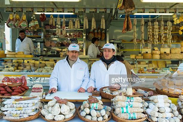 Market in Cannobio Piedmont Italy