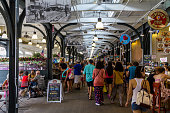 Fresh Market in New Orleans at daytime