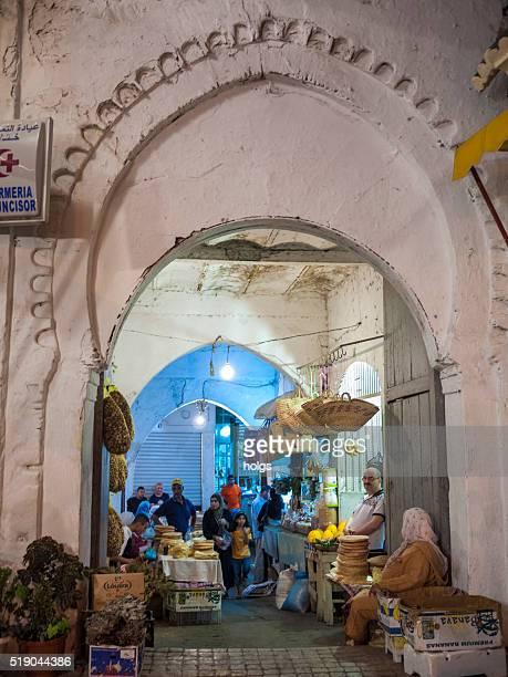 Markt in Tanger, Marokko