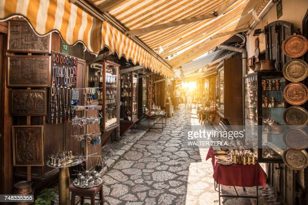 Market in the Old Town, Sarajevo, Bosnia and Herzegovina