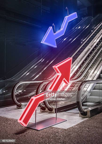 Market Indicator arrows grwoth