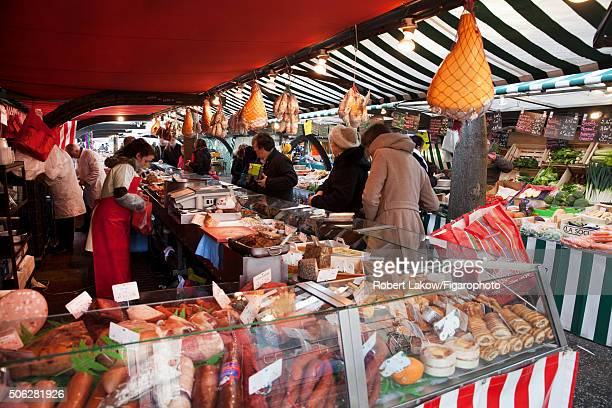 A market is photographed for Madame Figaro on December 18 2015 in Pantin France CREDIT MUST READ Robert Lakow/Figarophoto/Contour by Getty Images