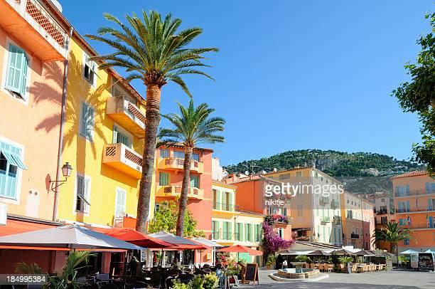 Place du marché sur la Côte d'Azur