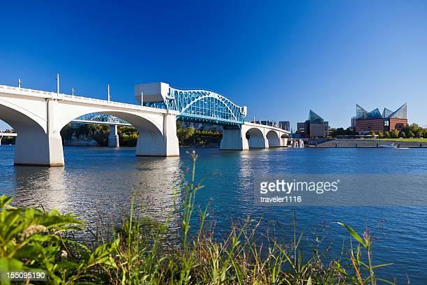 Market Street Bridge In Chattanooga, Tennesee, USA
