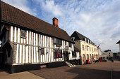 market town of Diss, Norfolk