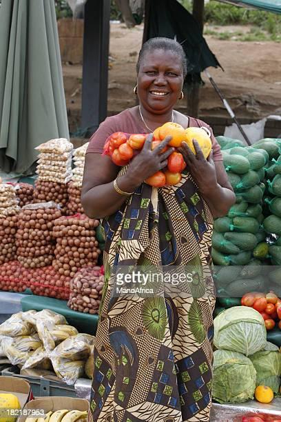 Markt-Frau Südafrika