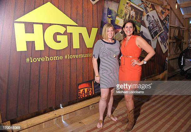 SVP Marketing and Creative at HGTV and DIY Network Denise Conroy and Vice President marketing HGTV and DIY Network Shannon Driver attend HGTV'S The...