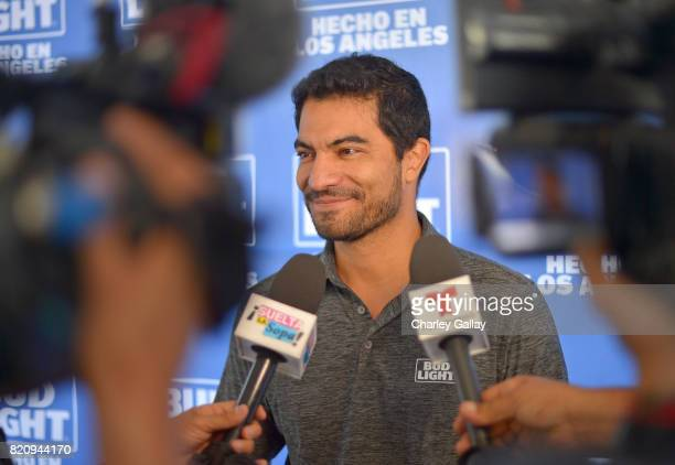 """Marketing Director for AnheuserBusch West region Jorge Inda Meza partnered with the brand that's famous among friends to celebrate """"Hecho en Los..."""
