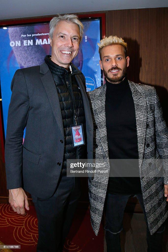 """""""Les Trolls"""" Paris Premiere At Cinema Le Grand Rex"""