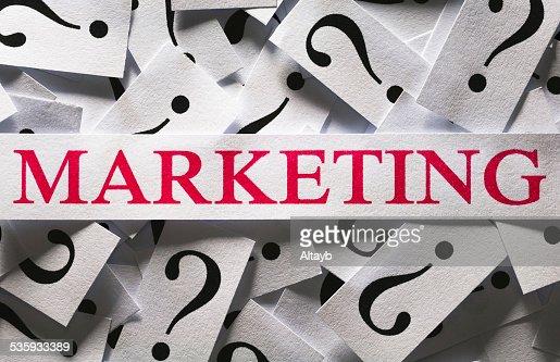 Marketing : Stock Photo