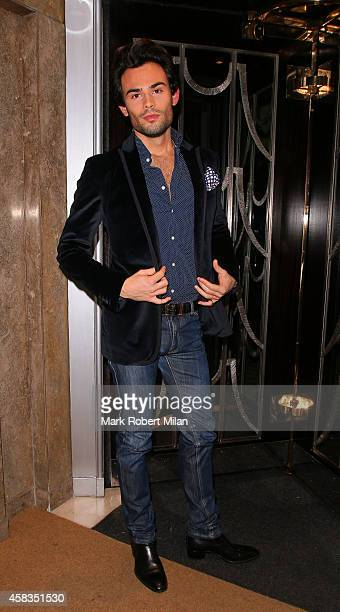 MarkFrancis Vandelli at Claridges Hotel on November 3 2014 in London England