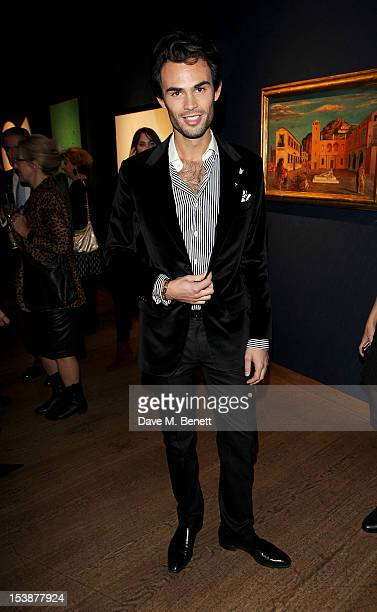 MarkFrancis Vandelli attends as Christie's and Vanity Fair host The Contemporary Art Party at Christie's King Street on October 10 2012 in London...