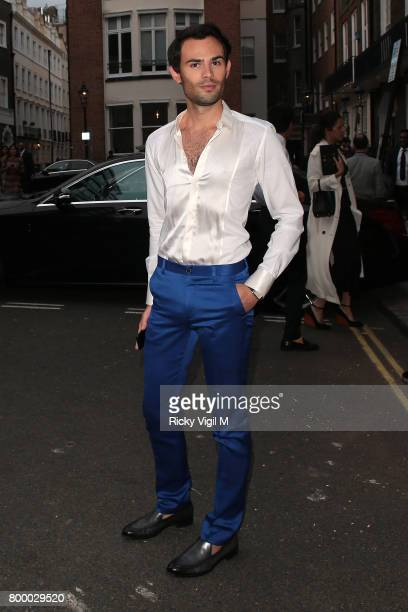MarkFrancis Vandelli attends Calvin Klein fragrance launch party at Spencer House on June 22 2017 in London England