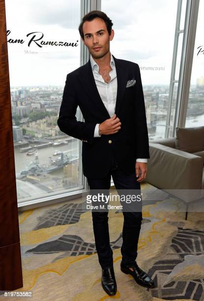 MarkFrancis Vandelli attends Parham Ramezani X Jenson Button jewellery launch at The Shard on July 20 2017 in London England