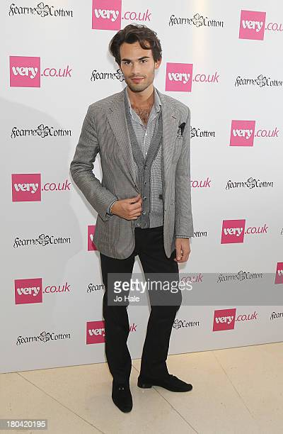 MarkFrancis Vandelli attends the launch party for the Verycouk SS14 collection at Claridges Hotel on September 12 2013 in London England