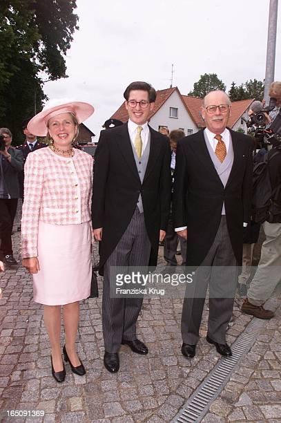Markgraf Max Von Baden Ehefrau Valeire Sohn Bernhard Bei H Von Hannover T Von Westernhagen Hochzeit