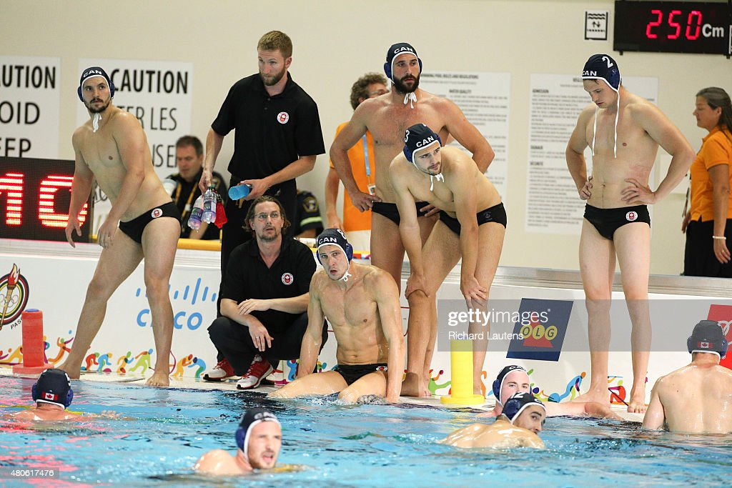Pan Am Men's Water Polo semi-final pits Canada against the USA
