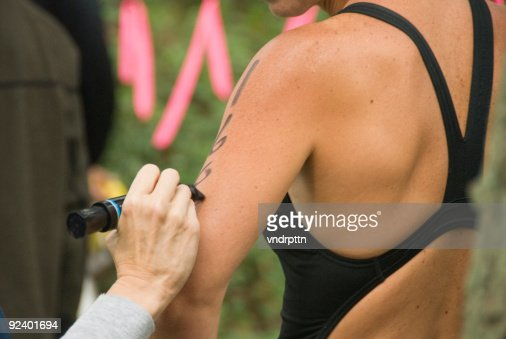 Marking the Triathlete