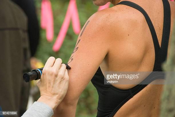 Marking the Triathlete