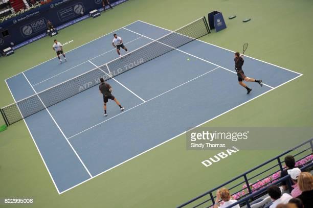 Marko Djokovic / Novak Djokovic contre Leander PAES / Mahesh BHUPATHI double double Championship Duty Free Dubai 2011
