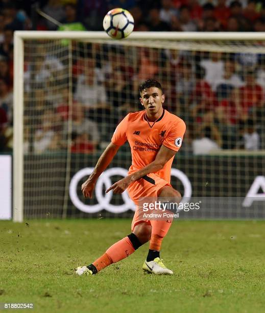 Marko Grujic of Liverpool during the Premier League Asia Trophy match between Liverpool FC and Crystal Palace on July 19 2017 in Hong Kong Stadium...