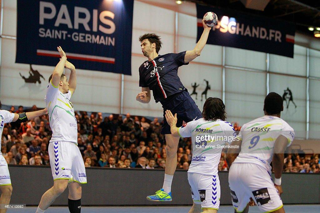 Paris Saint-Germain v Dunkerque - Handball