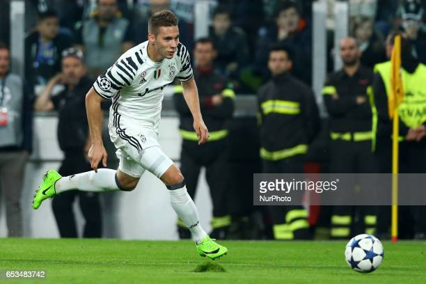 Marko Pjaca of Juventus at Juventus Stadium in Turin Italy on March 14 2017