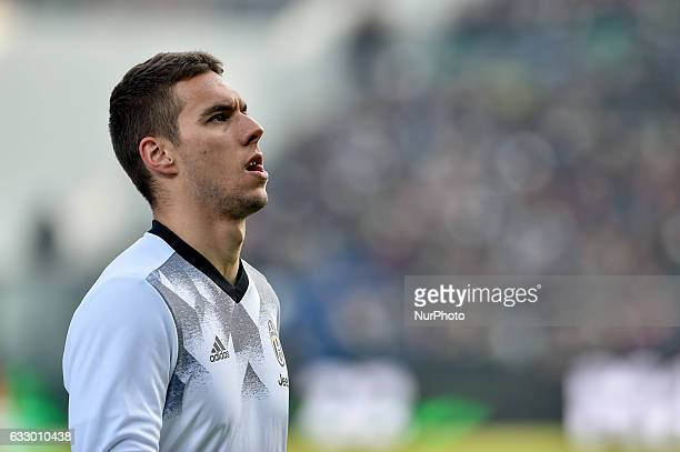Marko Pjaca of Juventus during the Serie A match between Sassuolo and Juventus at Mapei Stadium Reggio Emilia Italy on 29 January 2017 Photo by...