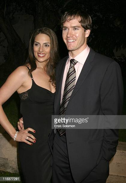MarkPaul Gosselaar and wife Lisa during 'NYPD Blue' Wrap Party to Commemorate 12 Seasons On ABC at The Ebell of Los Angeles in Los Angeles California...